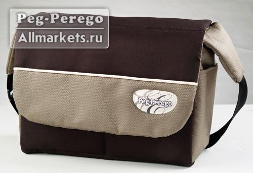 Стильная сумка Borsa Cambio для колясок Peg Perego производится в тех же цветовых вариантах, что и коляски Peg Perego.