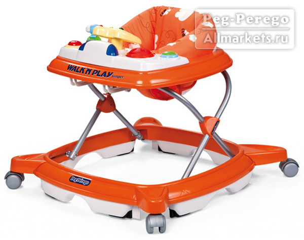 Ходунки Peg-Perego Walk`n Play Jumper Theo Arancio