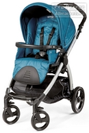 PEG-PEREGO Book Plus Total Silver Oceano - ПРОГУЛОЧНЫЙ ВАРИАНТ