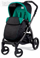 Peg Perego Book Plus Pop-Up Completo Aquamarine