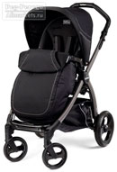 Peg Perego Book Plus Pop-Up Completo Onyx