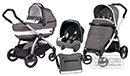 Peg Perego Book Plus Pop-Up Completo Modular Ascot 3 in 1