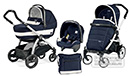 Peg Perego Book Plus Pop-Up Completo Modular Riviera 3 in 1