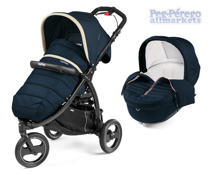 КОЛЯСКА PEG PEREGO MODULAR BOOK CROSS 2 В 1 BREEZE BLUE
