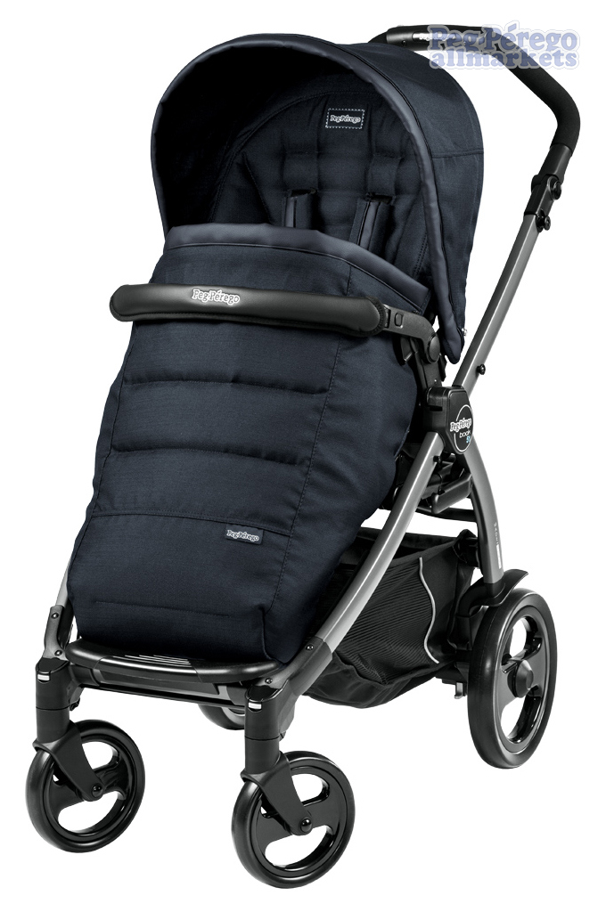 ПРОГУЛОЧНАЯ КОЛЯСКА PEG PEREGO BOOK 51 POP-UP COMPLETO LUXE BLUENIGHT