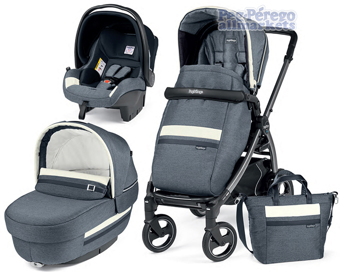КОЛЯСКА PEG PEREGO BOOK 51 S ELITE MODULAR 3 В 1 LUXE MIRAGE