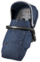 Peg Perego Seggiolino Pop-Up Urban Denim