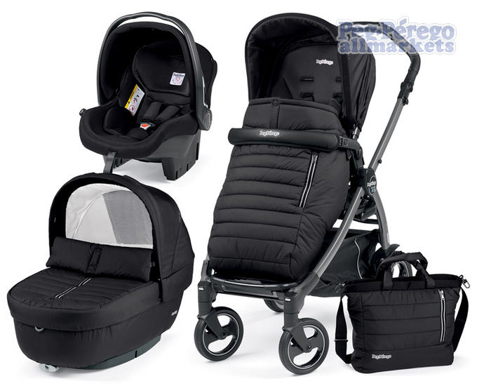 КОЛЯСКА PEG PEREGO BOOK 51 S ELITE MODULAR 3 В 1 BREEZE NOIR